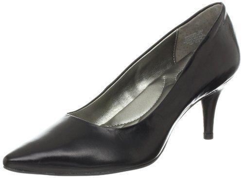 "Bandolino Women's Inspire Leather Pump Bandolino. $69.00. leather. Manmade sole. Heel measures approximately 2.75"""