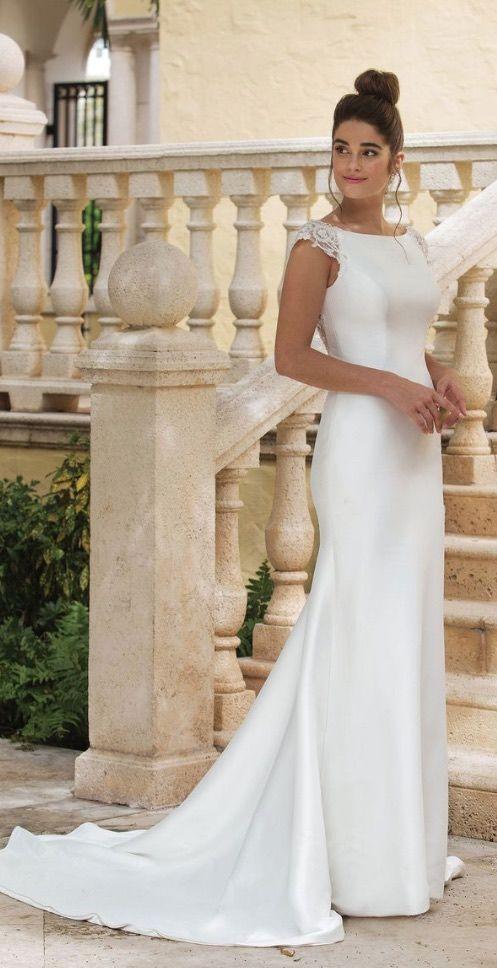 ea0c84e3eb Courtesy of Sincerity Bridal Wedding Dress from Justin Alexander  www. justinalexander.com sincerity-bridal