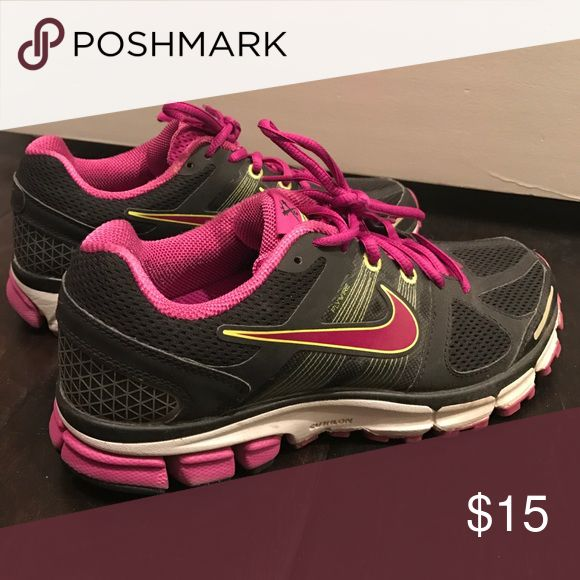 Nike workout shoes Cushioned and supported. In great condition. Nike Shoes Sneakers