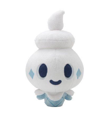 "Amazon.com: Pokemon Center Blue And White Plush Doll Pokedoll - 6.5"" Vanipeti/Vanillite: Toys & Games"