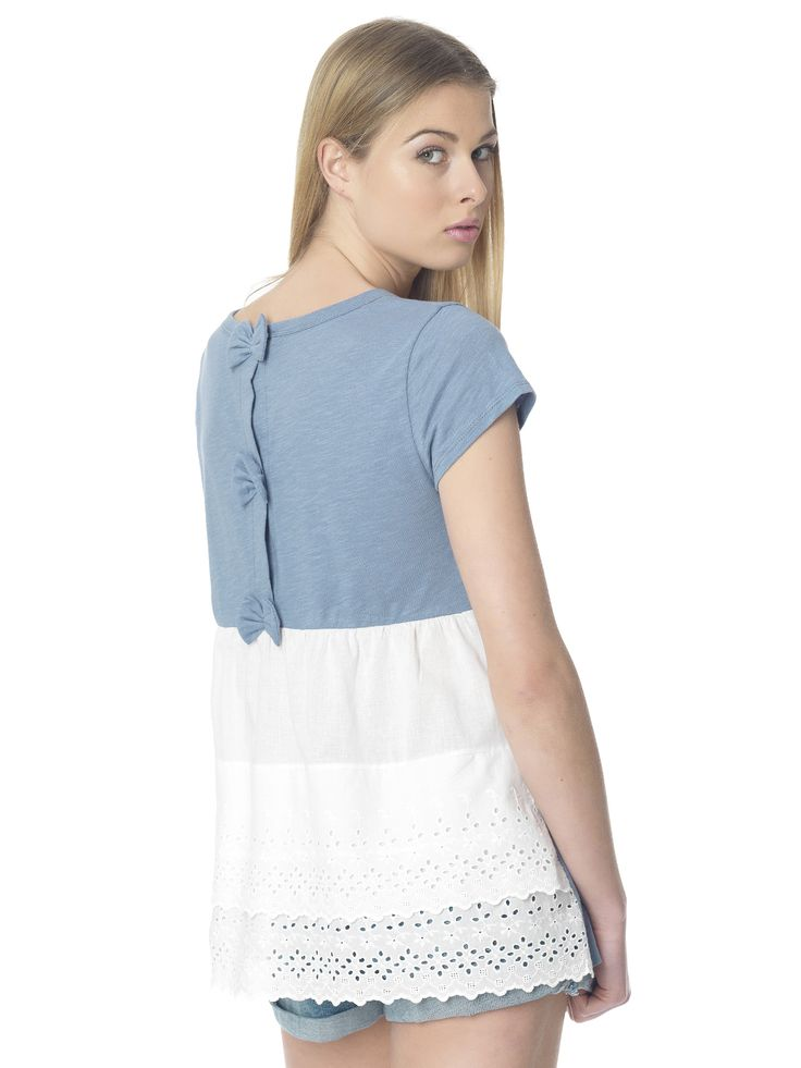 Regalinas broderie back top #ss15