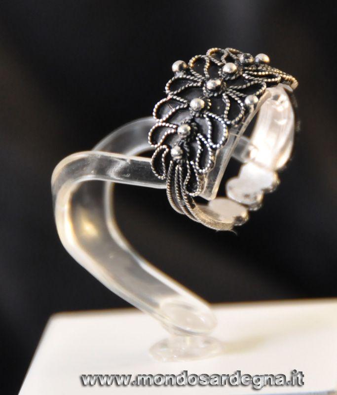 Fedine, fede sarda e anelli in argento – F.O.A.G