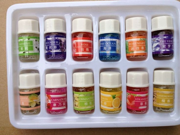 Essential Oils Pack for Aromatherapy Spa Bath Massage Skin Care Lavender Oil With 12 Kinds of Fragrance