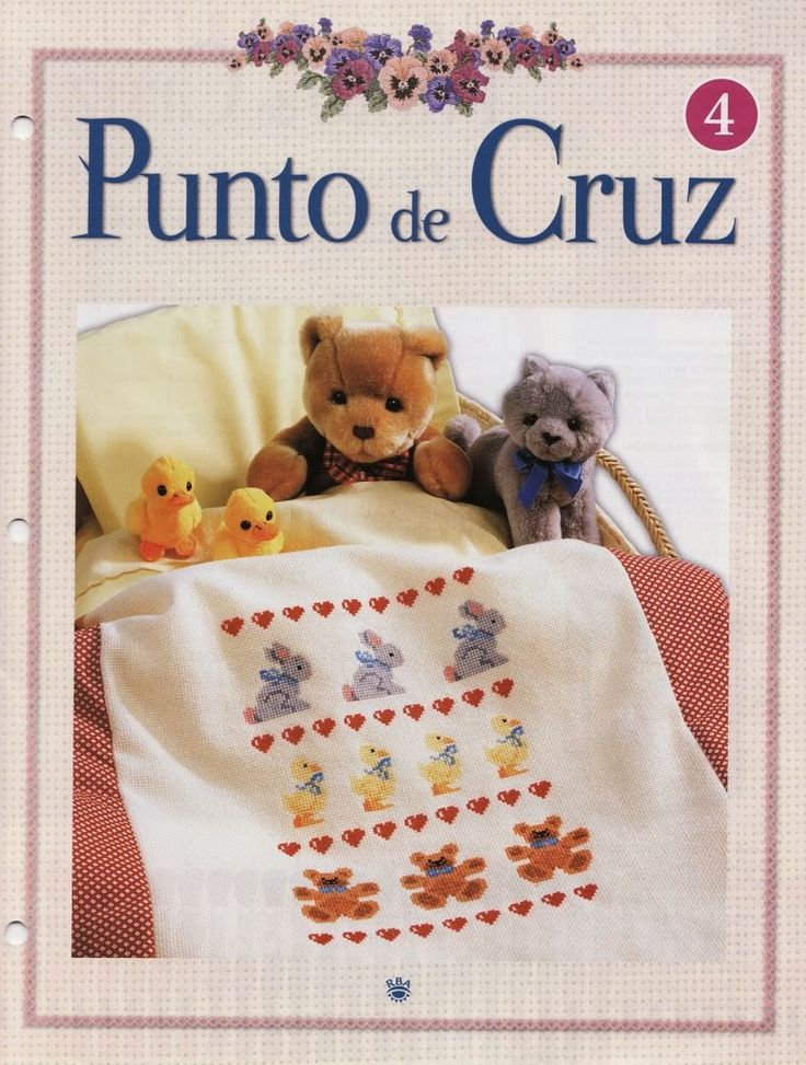 Revistas de manualidades Gratis: Revista Punto de Cruz Gratis