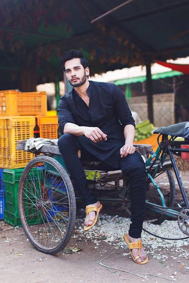 Dress to express, not to impress — amarjaan:   Men in black kurtas omg kill me