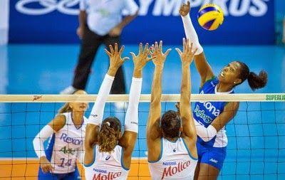 Blog Esportivo do Suíço: SUPERLIGA FEMININA: 2º Turno - 12ª Rodada: Gabi comanda vitória do Rio sobre o Osasco
