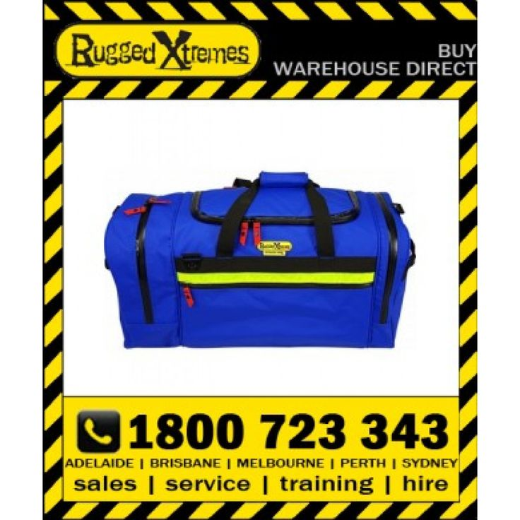 Rugged Xtremes Essentials Blue PVC Offshore Crew Bag (73L)