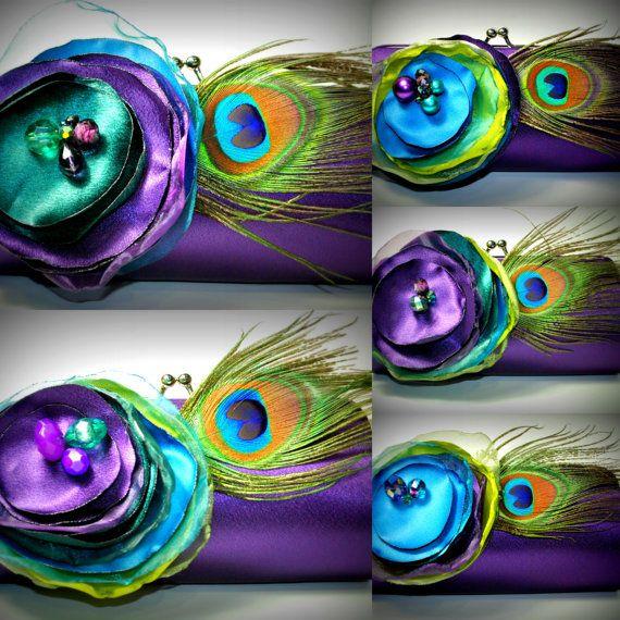 Purple Wedding Party  Bridesmaid  Bridesmaid by bellafiore2009, $50.00