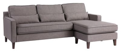 The Arden sofa range offers comfort and style with its contrast piping and lumber support cushions.  This sofa has a quality build with its solid wood frame and legs.