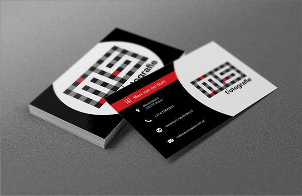 Visitekaartjes MS fotografie by Grafisch Bureau Peter V Company