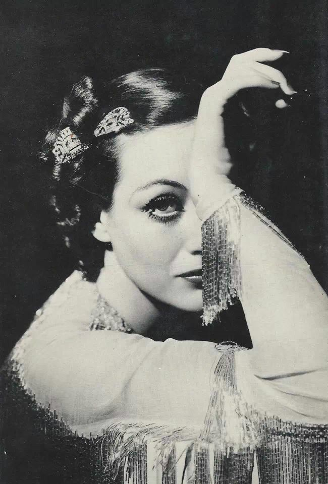 Joan Crawford - Joan was such a bitch, but a damn good actress!                                                                                                                                                     More