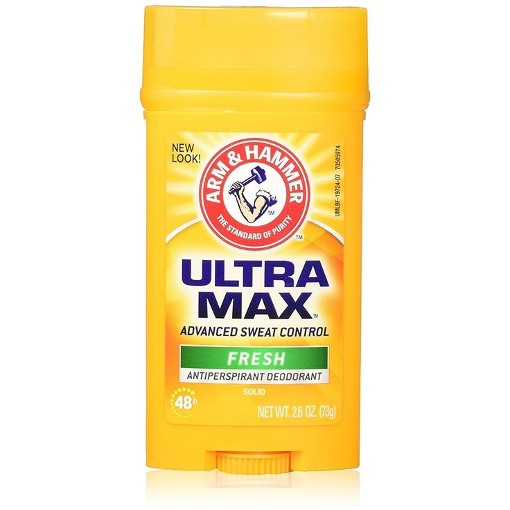Arm & Hammer Deodorant 2.6 Ounce Solid Ultra Max Fresh (Wide) (76ml) (3 Pack)