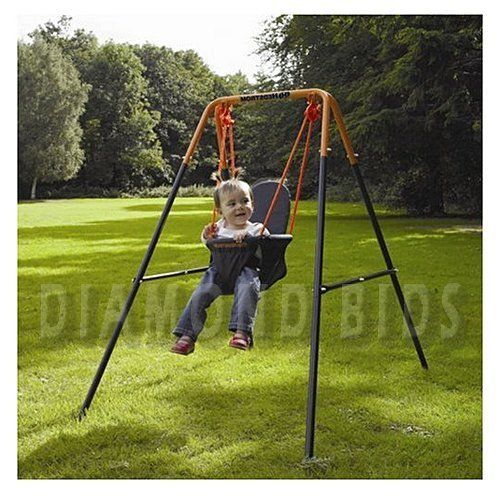 Folding-Toddler-Swing-Baby-Infant-Garden-Outdoor-Seat-Toy-Children-Play-Portable