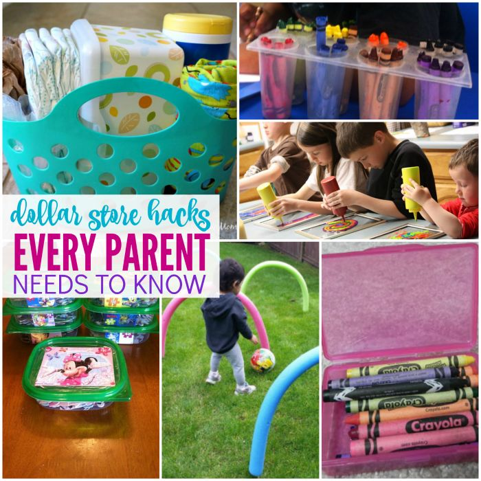 Dollar Store Hacks Every Parent Needs to Know