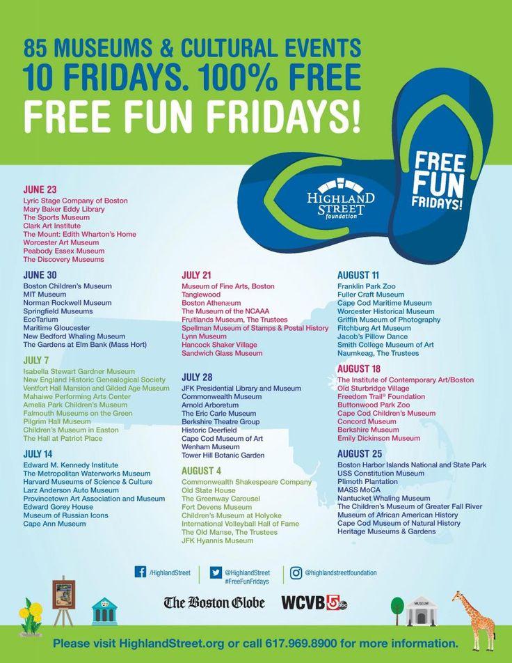 Free Fun Fridays! | MyMattapan.org
