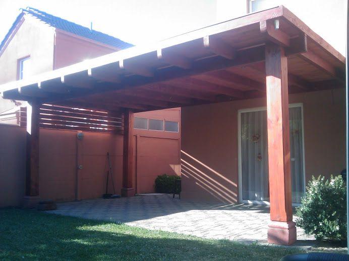 Pergola Valle Lo Campino En 2019 Quinchos Terraza Jardin