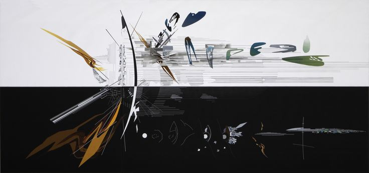 The Creative Process of Zaha Hadid, As Revealed Through Her Paintings,Vision for Madrid - 1992. Image Courtesy of Zaha Hadid