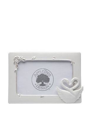 61% OFF Perfect Wedding Swan Couple Porcelain Frame, 3