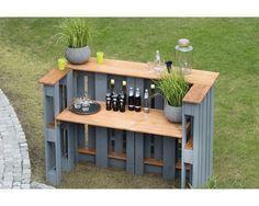 Palettentisch Holz 188x80x122 grau # 188x80x122 #palette #palletideas #tabelle – aubenkuche.diyhomedesigner.com