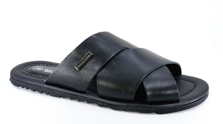Giorgio Bressanini Handmade Genuine Leather Sandal. Black Burnish R399. Handmade in Pietermaritzburg, South Africa. Code: GBS 189. See online shopping for sizes. Shop online https://www.thewhatnotshoes.co.za Free delivery within South Africa
