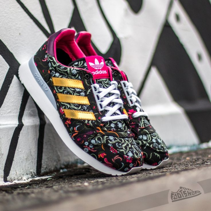 adidas ZX 500 OG W Core Black/ Gold Metal/ Merlot