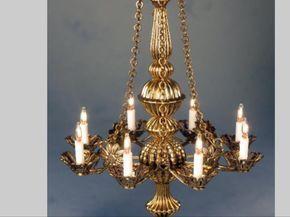 lighting for dollhouses. dollhouse miniature lighting electrical chandelier for dollhouses