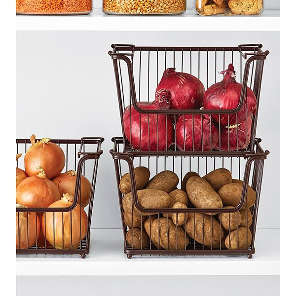25 best ideas about Onion storage on PinterestPantry door rack