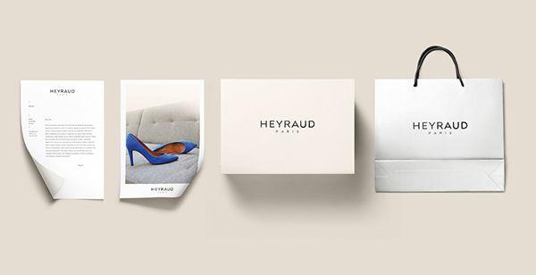 Heyraud Paris - Brand design on Behance