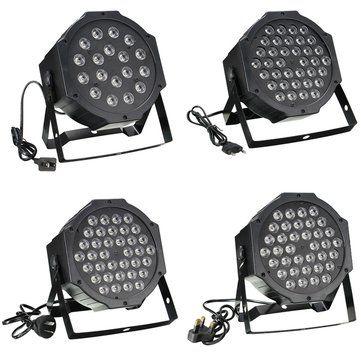 RGB Remote DMX512 Voice-activated 36 LED Stage Light Party Disco KTV Lamp 110-240V Sale - Banggood.com