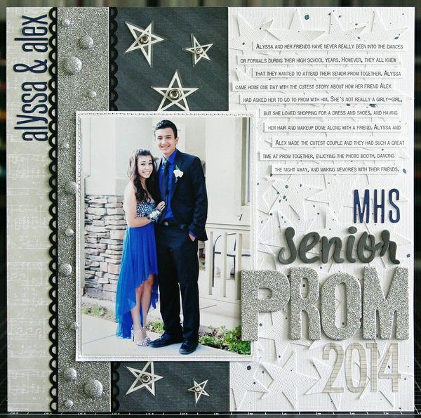 Senior Prom 2014 - Scrapbook.com
