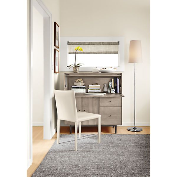 Hudson Modern Office Armoire with Steel Base - Modern Office Storage - Modern  Office Furniture -