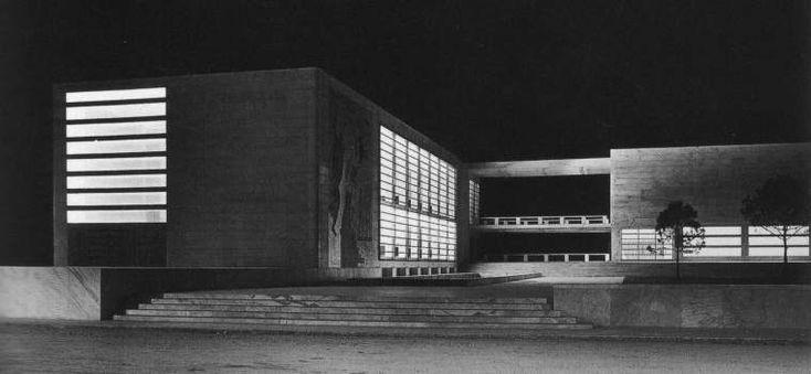 Accademia di scherma al Foro mussolini Luigi Moretti 1933-1936