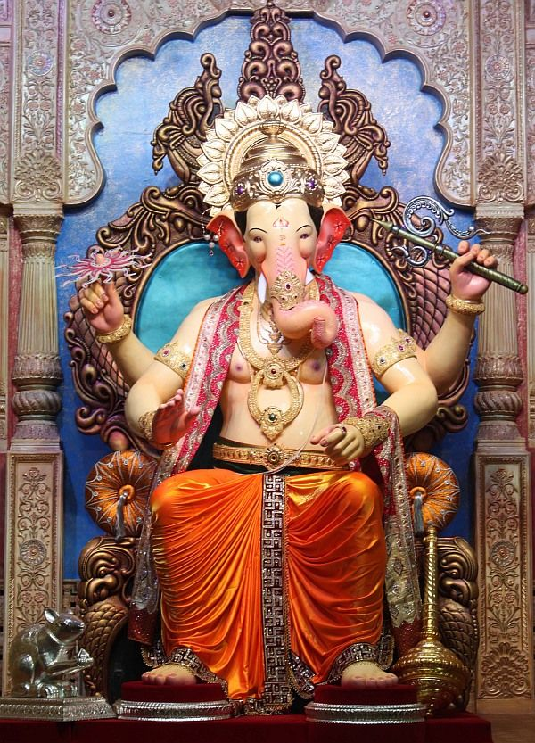 Ganesh utsav is just around the corner and the most renowned and one of the oldest Lalbaugcha Raja's idol to be worshiped in the pandal for 11 day long festival is finally here.