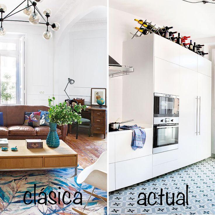 Eres de decoraci n a cl sica b actual este piso - Decoracion clasica actual ...