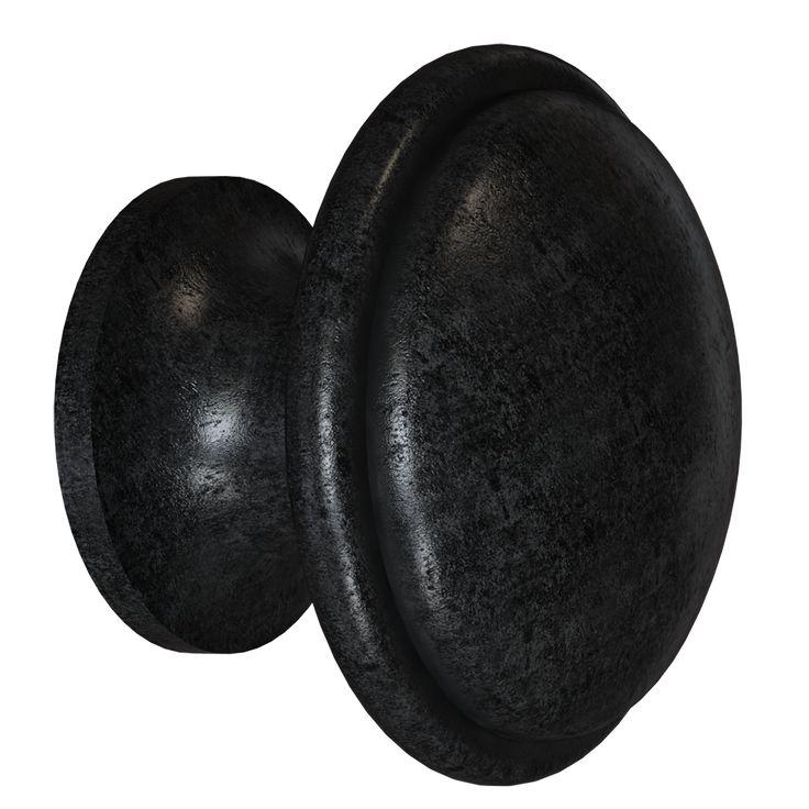 blackened pewter door knob for kitchen cabinets kraftmaid - Acorn Kitchen Cabinets