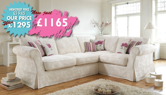 Part of our Massive May Stock Clearance Sale! Now Just £1156 for this gorgeous corner sofa :)