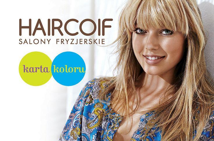 Zapraszamy Panie na usługę koloryzacji w Salonie Haircoif vis a vis Carrefour Wykonując koloryzację otrzymacie Panie Kartę Koloru. Trzecia wizyta 30% rabatu. W każdy wtorek koloryzacja - 20%. Zapraszamy na wakacyjne programy pielęgnacyjne. #galeriamokotow #zakupy #sale #Galmok #shopping #haircoif #hair