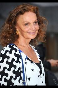 Diane Von Furstenberg, CEO, Diane Von Furstenberg Studio