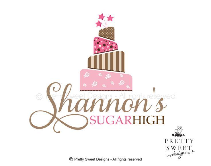 Cake Logo Design For Bakery Or Wedding Shop Bakery Logo
