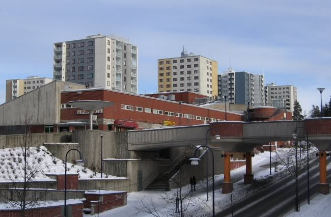 Havukoski suburb is the pride of Finnish urban area planning.