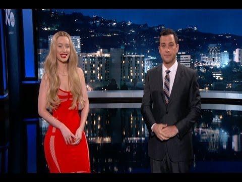 "New Lyrics for Old People: Jimmy Kimmel and Iggy Azalea Translate ""Fancy"" / May 16, 2014 http://youtu.be/Uyfjry9RB0U"