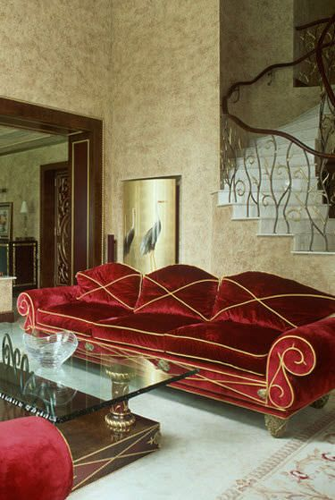 Red, Sofas and Red sofa on Pinterest