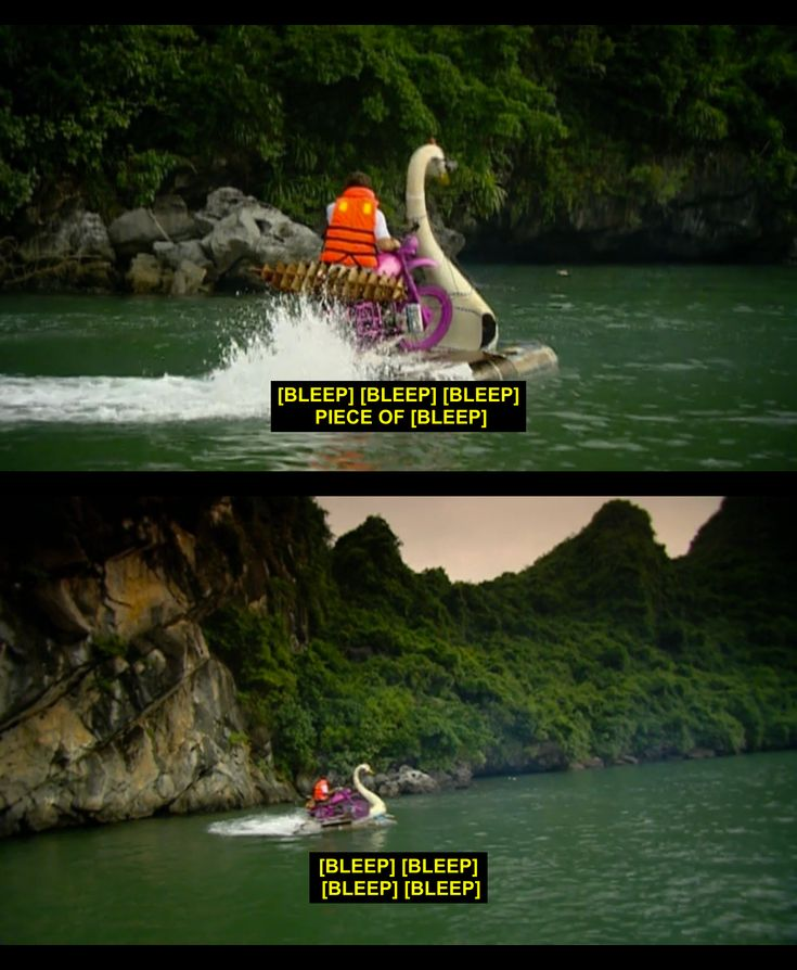 Jeremy experiencing technical difficulties. - Top Gear Vietnam Special.