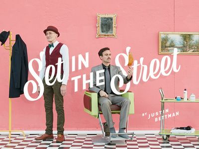 New Site - Set in the Street