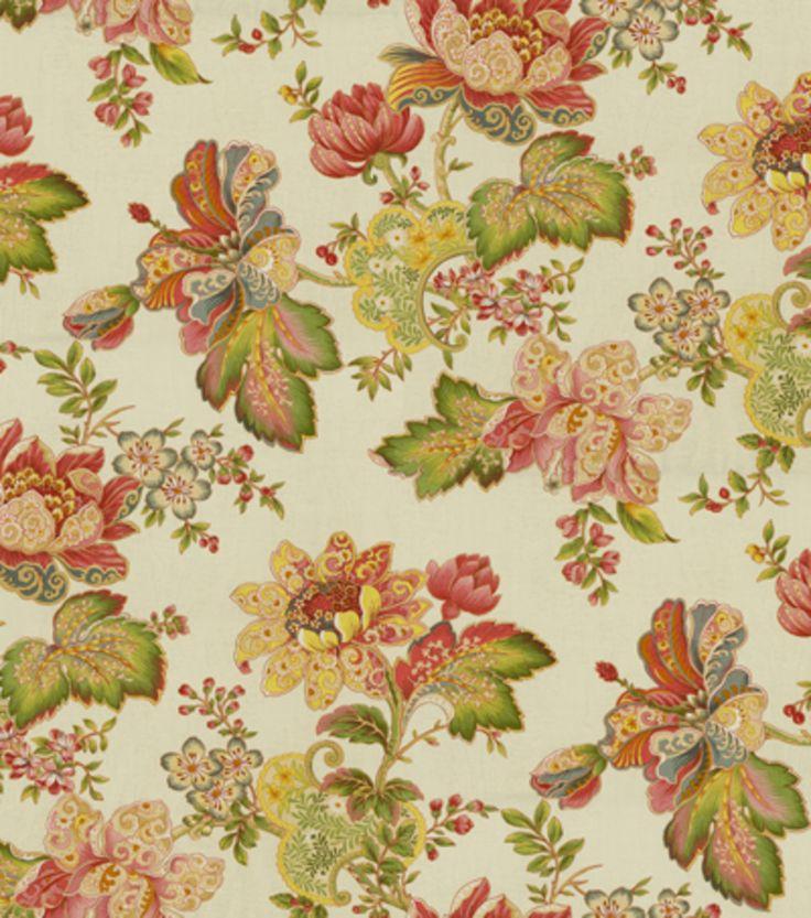 Home Decor Print Fabric SMC Designs Luxuriance MultiHome Decor Print Fabric SMC  Designs Luxuriance