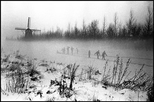 Winter in The Netherlands 1964 . © Leonard Freed/Magnum Photos