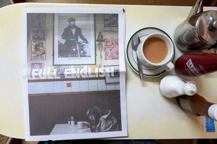Sam Walker captures classic cafe culture in his photography series Full English. Printed as a digital tabloid newspaper by Newspaper Club. #newspaperclub #photography #london #cafe #digitaltabloid #newspaper #print