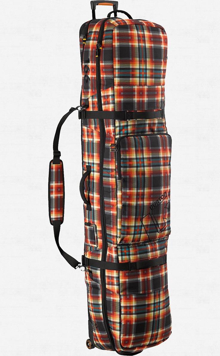 Wheelie Locker | Burton Snowboards  When I go pro, I'm gonna need one of these ;)