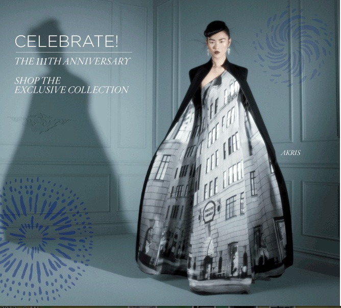 111th Bergdorf Goodman <3: 111Th Anniversary, Bergdorf Goodman, Anniversary Dress, 111Th Bergdorf, Goodman 111Th
