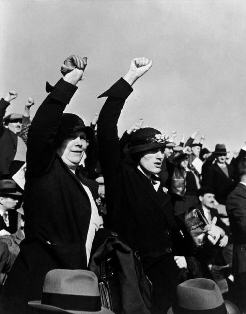 Robert Capa     Supporters of the Popular Front, Paris     1936